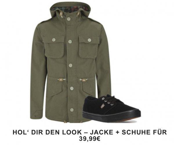 Leinen-Schuhe für 39,99 kaufen : Brave Soul Parka Gratis // TheHut.com