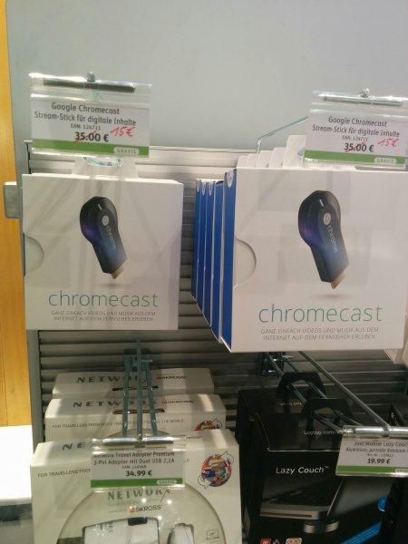 [Lokal] Chromecast für 15€ bei Gravis in (Wiesbaden)