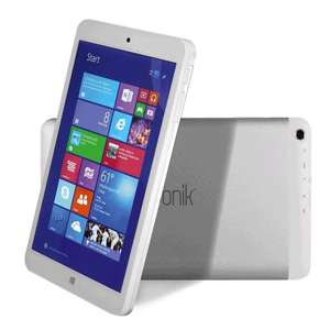 i.onik TW 8 Windows Pad White Windows 8.1 mit Office 365 (10 Update)