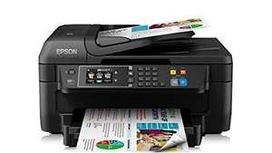 [Blitzangebot] Epson WorkForce WF-2660DWF Tintenstrahl-Multifunktionsgerät Drucker Kopierer Scanner Fax, 83,99 EUR @ amazon