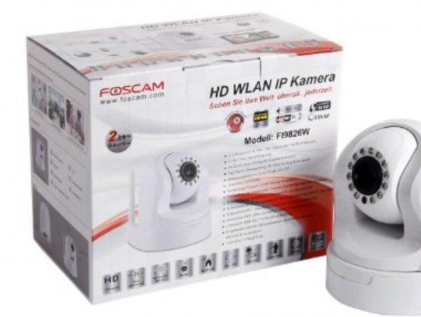 FOSCAM FI9826W  Netzwerk IP Camera Tilt&Pan 960p