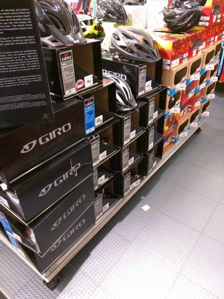 [LOKAL HH Karstadt] Marken Fahrrad Helme (GIRO) günstig (30€ statt 140€)