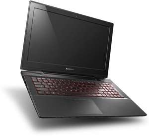"Lenovo Y50-70 - Core i7-4720HQ - 4x 2,6-3,6GHz, GeForce GTX 960M, 8GB RAM, 1TB SSHD, 15,6"" Full-HD IPS matt, beleuchtete Tastatur, Win 8.1 - 849€ @ Cyberport.de"