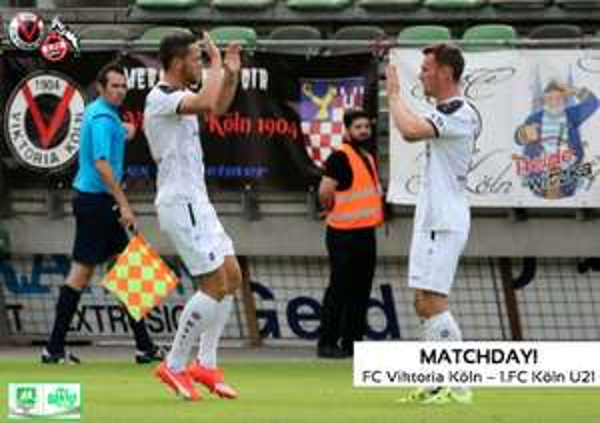 Köln: Heute 25.8.2015 - Zwei Derby-Karten für Viktoria Köln gegen FC II zum halben Preis! Coupon im Kölner Express