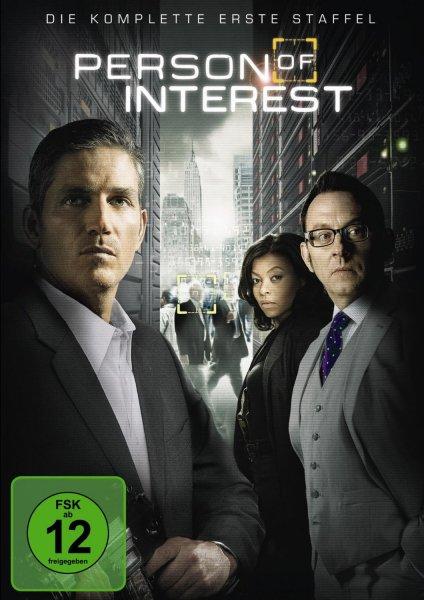 [Amazon Prime oder Buchtrick] Person of Interest - Die komplette erste Staffel [6 DVDs] für 7,73 €
