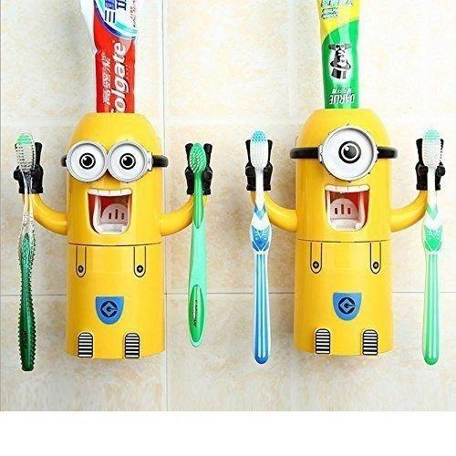 MINIONS Zahnpasta Spender - Ich einfach unverbesserlich - China Gadget @ebay 16,99 €uro
