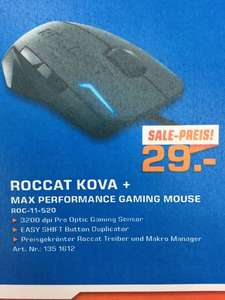 (Saturn Bundesweit & Online) Roccat Kova + Max Performance Gaming Mouse für 29 Euro