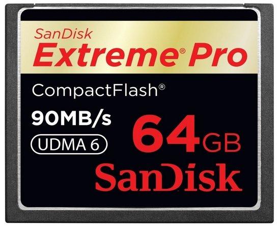 Sandisk Extreme Pro Compact 64GB@Amazon