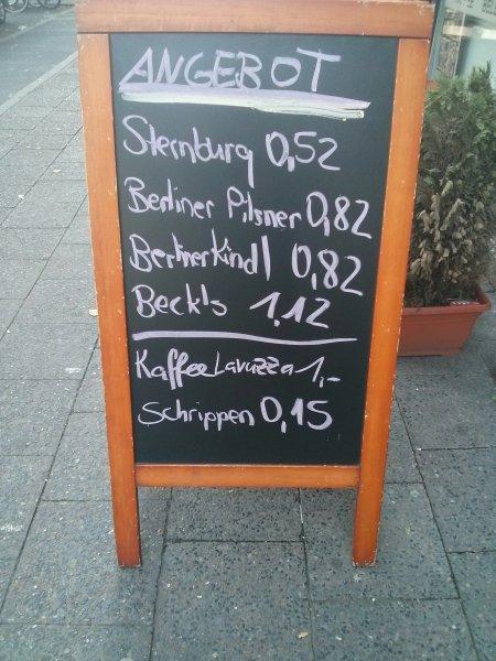 [Lokal Berlin] Sterni für 52 cent bei Spätkauf Olive in Friedrichshain