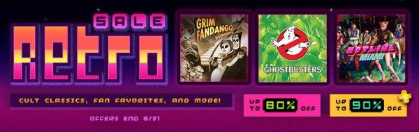 Retro Sale im US und Kanada PSN