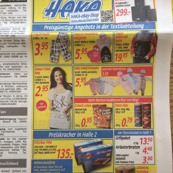 [Lokal - Haka Leer] AVM Fritz!Box 7490 für 135 €