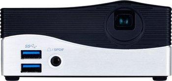 Gigabyte Barebone BRIX (i3-4010U, WVGA LED Projektor, 2x DDRL3 SO-DIMM, 1 x mSATA Slot, 4x USB 3.0, HD 4400 Grafik, HDMI) für 212€ @Notebooksbilliger