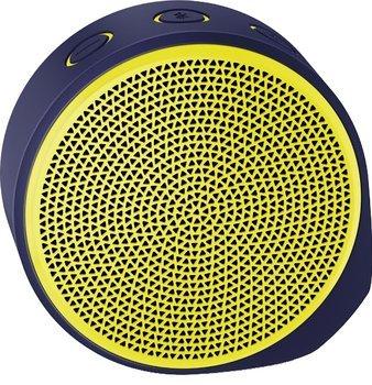 Logitech X100 Mobiler Bluetooth® Lautsprecher mit Freisprecheinrichtung, Gelb, Lila und Orange, Blau inkl. Vsk für 19,90 € > [redcoon.de]