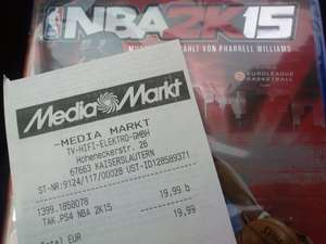(lokal Kaiserslautern MM) NBA 2k15 PS4