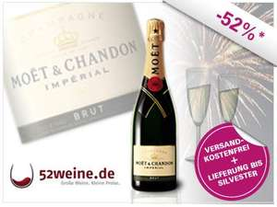 0,75l Moet & Chandon Champagner für 19€