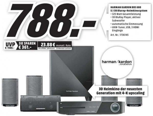 [Lokal Rostock Media Markt] Harman Kardon BDS 680 für 788 € (Idealo 1149 €)