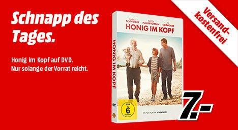 [Mediamarkt] Schnapp des Tages. Honig im Kopf DVD für 7,-€ Versandkostenfrei ab 20.00 Uhr.Mit Preisgarantie.Erscheinungsdatum 27.08.**Update**Amazon zieht mit.7,-€ für Prime Mitglieder