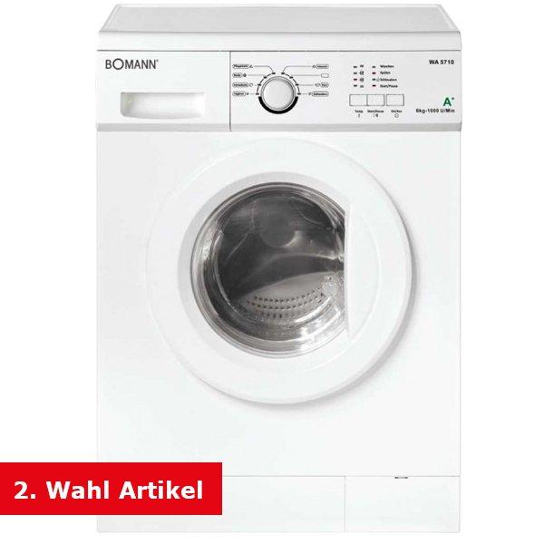 Bomann Waschmaschine WA 5710 B-WARE (Ausstellungstück) inklusive Lieferung 123,90 (keine B-Ware Vergleichspreis 245 Euro)