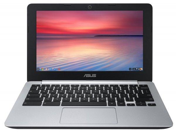"""Asus Chromebook 11,6"""" HD Display, Intel® Celeron® N2830 (2x 2,42 GHz), 2GB Ram, 16 GB EMMC, Intel HD Grafik, HDMI, USB 3.0, WLAN-ac, BT, Chrome OS für 144,33€ @Amazon.fr"""