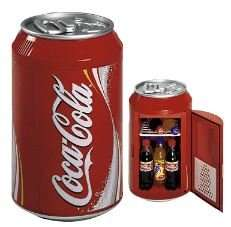 Coca-Cola Elektro Kühlbox Dosen Design - CAN 10 rot