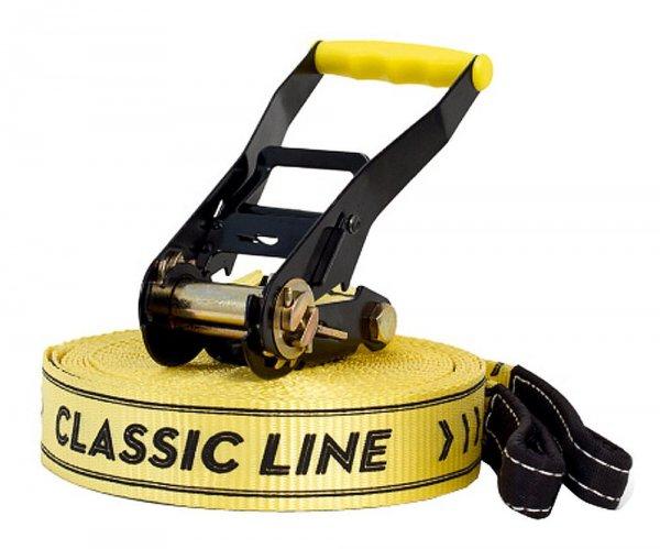 [Amazon] Gibbon Slacklines Classic Line X13 Tree Pro Set, Gelb | -20% | 44,99€
