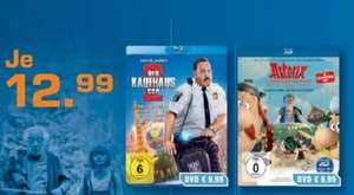 """Saturn Dortmund - Blu Ray """"Asterix -  Im Land der Götter - 3d"""""""