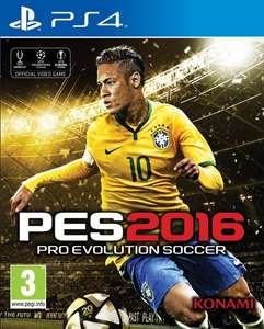 Für 41,00€ Vorbestellen: PES 2016 Pro Evolution Soccer - Day One Edition PS4