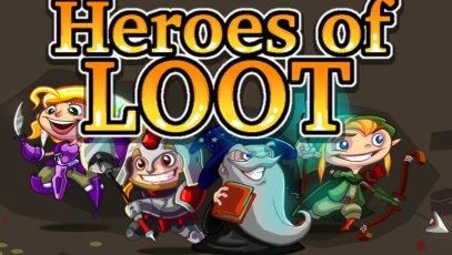 Heroes of Loot für 25 Cent (DRM free) oder 89 Cent (Steam) @ Indiegamestand