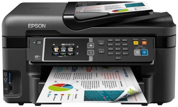 Blitzangebot: Epson WorkForce WF-3620DWF Multifunktionsgerät (Scannen, kopieren und Faxfunktionen) schwarz @ 109 Euro inkl. Versand