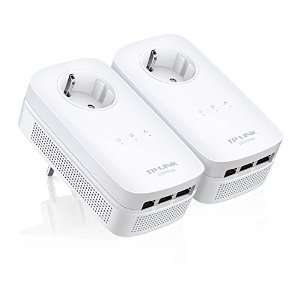 Amazon Blitzangebote : TP LINK TP-LINK TL-PA8030P KIT AV1200 Powerline-Netzwerkadapter (+TP Link Aktion Repeater RE200 Gratis)