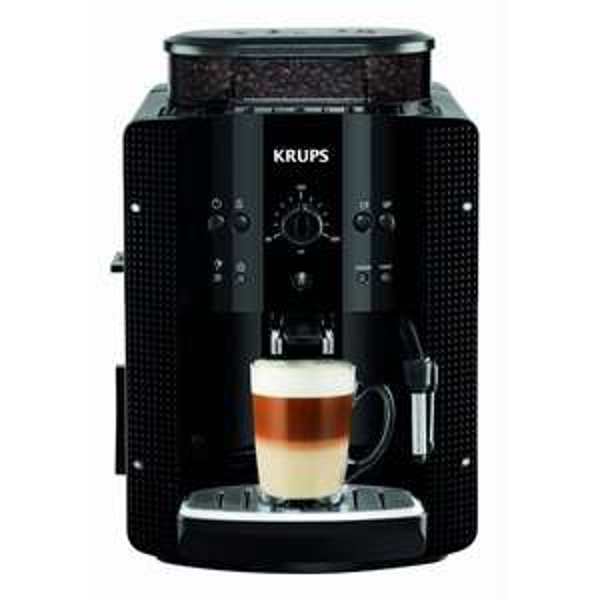 Kaffeevollautomat Krups EA8108 inkl. 1 kg Krups Kaffeebohnen für 249,89 € @ Metro