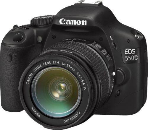 ebay WOW! - Canon EOS 550D Kit + 18-55mm IS Objektiv - 529,00€