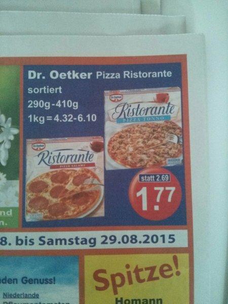 Dr. Oetker Pizza - verschiedene Sorten
