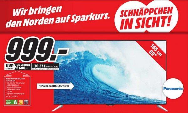 """(Lokal Mediamarkt Oldenburg) Panasonic 65"""" Full HD LED TV TX-65CW324"""