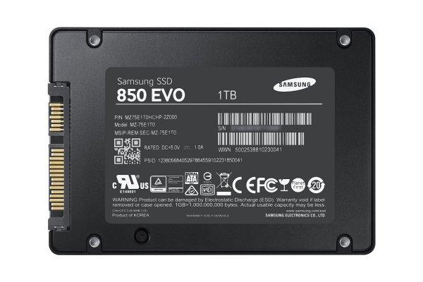 Samsung 1TB 850 Evo SSD MZ-75E1T0B - abgelaufen