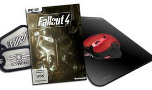Fallout 4 - Day-1-Edition Gamer Edition (Inkl. Maus, Mauspad und DogTag) 69,99 € Portofrei!