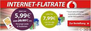 Vodafone Mobile Internet Flat 7,2 - 5,99€ monatl. Student - Normal 7,99€ @ Logitel