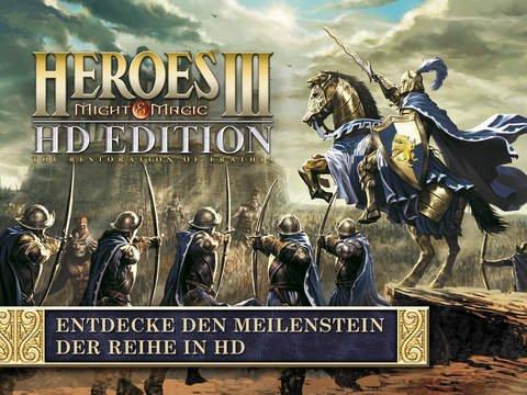 [iPad] Heroes of Might and Magic III - HD Edition