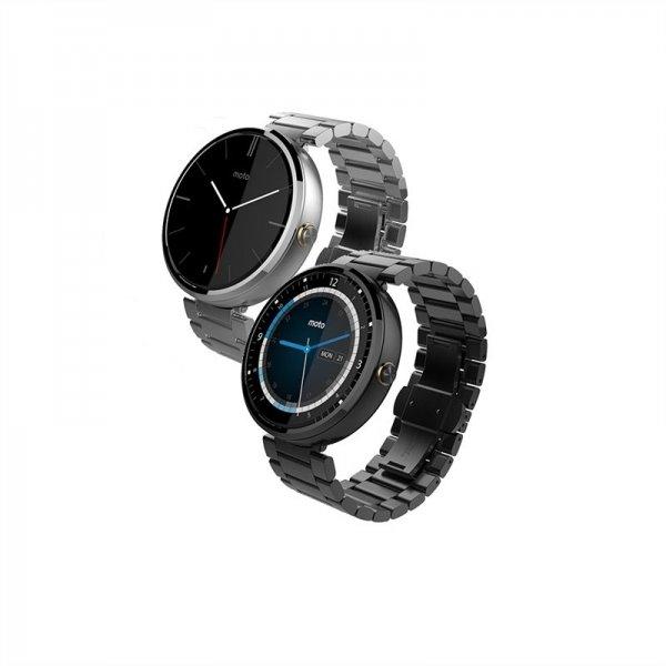 Moto 360 Metall Edition Schwarz / Silber [Ebay]