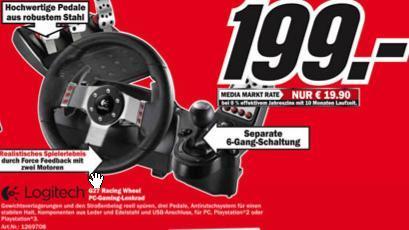 Logitech G27 Racing Wheel [Lokal Media-Markt Wilhelmshaven]