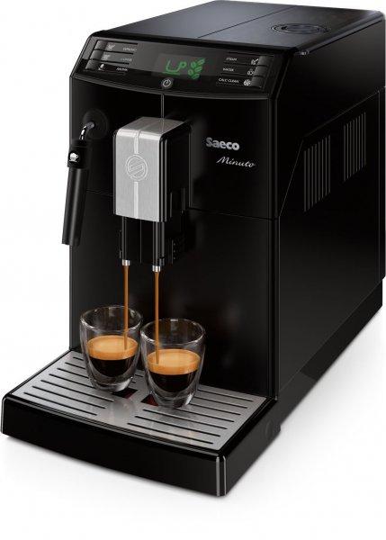 Saeco HD8761/01 Minuto Kaffeevollautomat (Dampfdüse) schwarz/silber ab 205,15 Euro @Amazon WHD
