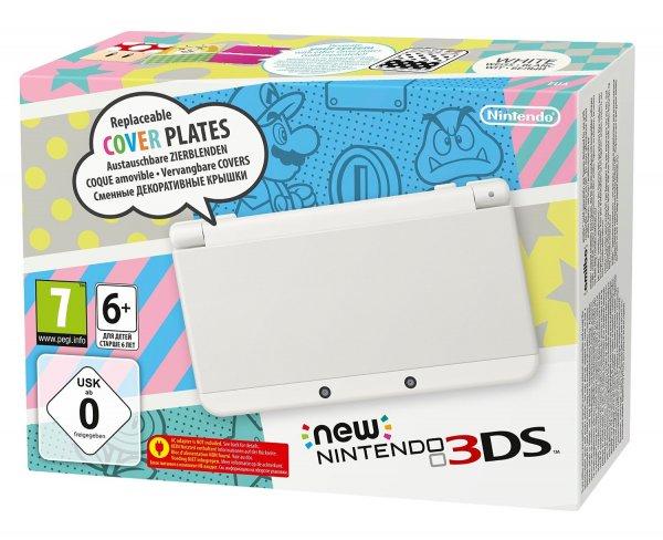 [Saturn lokal Dresden] New Nintendo 3DS (weiß) 149€ /  Yoshi's New Island 29€