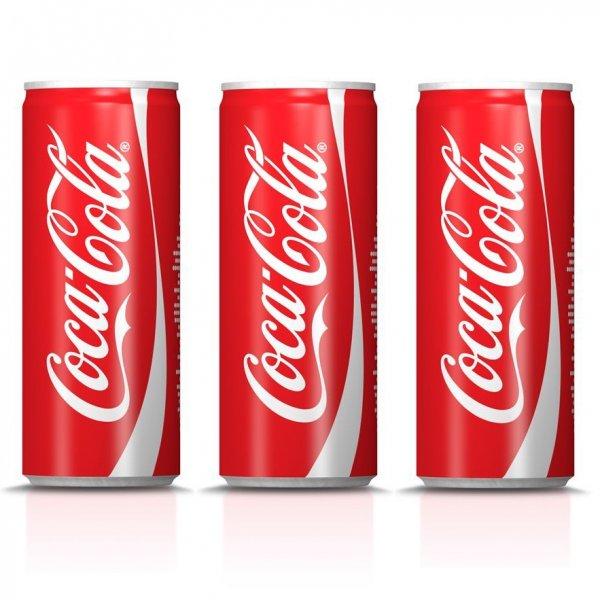 [NORDHESSEN] RP-Becker: Coca Cola Dosen 24x0,25l für 3,33€ (=0,14€/Dose)