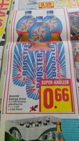 Edeka Herkules Booster Energy 1,5 Liter 0,66 Euro plus Pfand