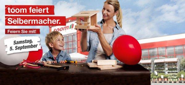 [Toom Baumarkt] Vogelhäuschen selber bauen und mitnehmen + Couponheft am 05.09.2015