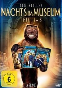 [DVD]  Nachts im Museum - 1-3 Collection (Vorbestellung) 2,64€ @ Buch.de / Bol.de