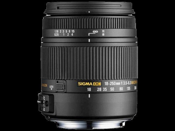 [Saturn SuperSunday] Sigma Objektiv 18-250mm f3.5-6.3 für Nikon,Canon und Sony nur 199€