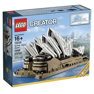 LEGO 10234 Sydney Opera House 237,99€ / 10214 Tower Bridge 186,99€ / 10244 Fairground Mixer 110,49€ @intertoys.de