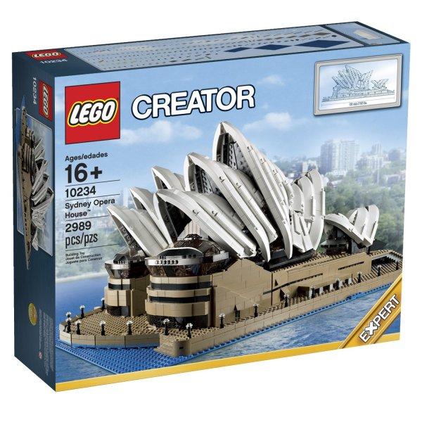 LEGO 10234 Sydney Opera House 237,99€ / 10214 Tower Bridge 186,99€ / 10244 Fairground Mixer 110,49€ @intertoys.de