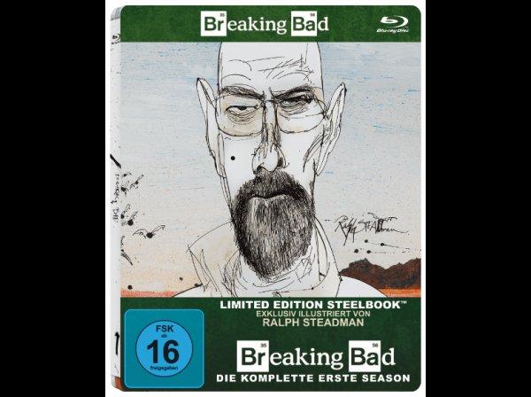 (Saturn online)Breaking Bad - komplette Serie als limited Steelbooks